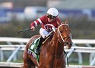 Gun Runner breezes to a decisive victory in the  Breeders' Cup Classic Nov. 4 at Del Mar