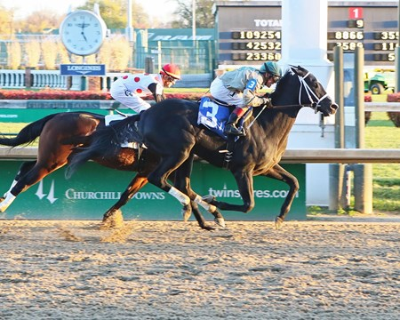 Arched Feather - Maiden Win, Churchill Downs - November 26, 2017