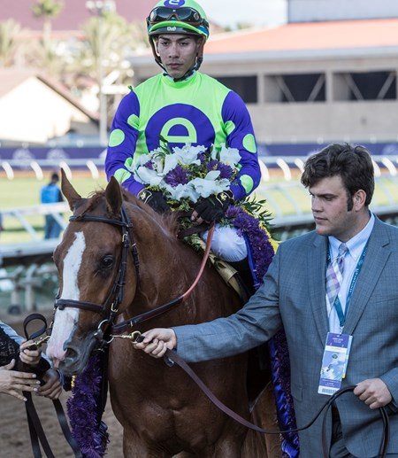Good Magic wins with Breeders Cup Juvenile on November 4, 2017