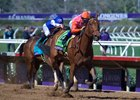 Caledonia Road clears Alluring Star by 3 1/4 lengths in the Nov. 4 Breeders' Cup Juvenile Fillies at Del Mar