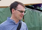 Trainer Aidan O'Brien at Del Mar ahead of the Breeders' Cup Nov. 2