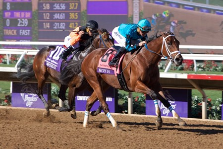 Roy H wins the Breeders Cup Sprint on November 4, 2017