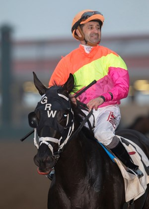 Jockey Joe Bravo encourages riders to use ASTM-approved vests
