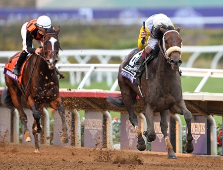 Forever Unbridled holds steady to the wire to finish a half-length in front