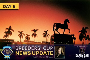 Breeders' Cup News Update for November 2