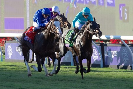 Talismanic wins the Breeders Cup Turf on November 4, 2017