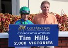 Trainer Tim Hills celebrates win number 2,000
