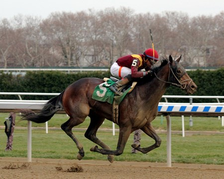 Catholic Boy with Manuel Franco win the 104th Running of The Remsen (G2) at Aqueduct on December 2, 2017