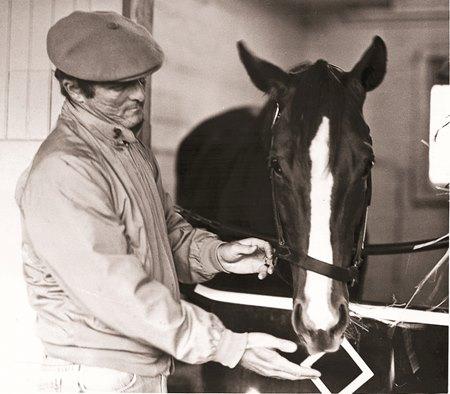 LeRoy Jolley With 1980 Kentucky Derby Winner Genuine Risk
