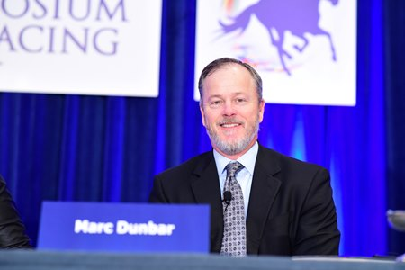 "Lawyer and lobbyist Marc Dunbar was a panelist in the ""Is Racing Ready for Legalized Sports Betting?"" session"