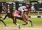 Mo Cash takes the FTBOA Marion County Florida Sire Stakes at Tampa Bay Downs