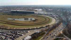 The New York Racing Association could be permitted to offer nighttime racing at Belmont Park