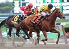 Vexor wins the Nashua Stakes.