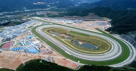 The training center at Conghua in China where the HKJC will host racing carnivals in 2019