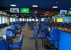 The William Hill Race & Sports bar at Monmouth Park was built to handle sports wagering, should it be made legal