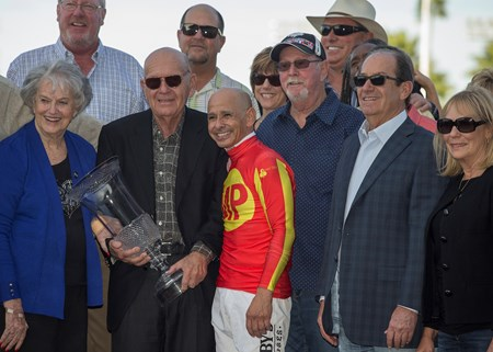 McKinzie wins the Los Alamitos CashCall Futurity Stakes