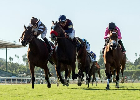 Insta Erma wins the 2017 Swingtime Stakes