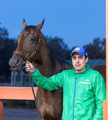 Fear the Cowboy Trained by Efren Lorza worked five furlongs at Oakridge Training Center in Ocala, Fl. Time was 1:04.