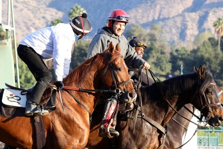 Giant Expectations - Santa Anita, January 12, 2018