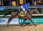 Cedartown wins the Louisiana Stakes at Fair Grounds Race Course