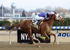Quezon takes the La Verdad by 4 1/4 lengths at Aqueduct