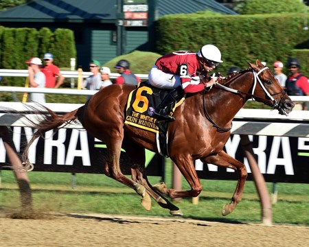 Gun Runner wins the Whitney (G1) at Saratoga Race Course