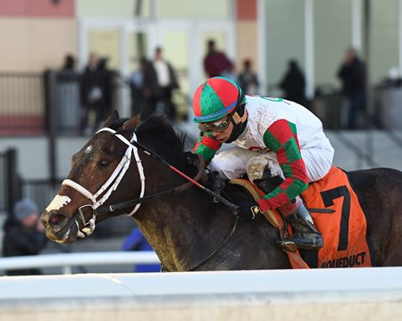 Firenze Fire wins Jerome Stakes at Aqueduct Racetrack