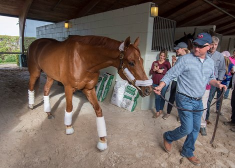 Gun Runner Farewell Brings Out the Best of Emotions