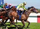 Legal Eagle wins the Queen's Plate at Kenilworth Racecourse