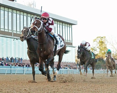 Farrell wins the Pippin Stakes at Oaklawn Park Jan. 13