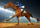 Winter Lightning wins the One Thousand Guineas at Meydan Racecourse