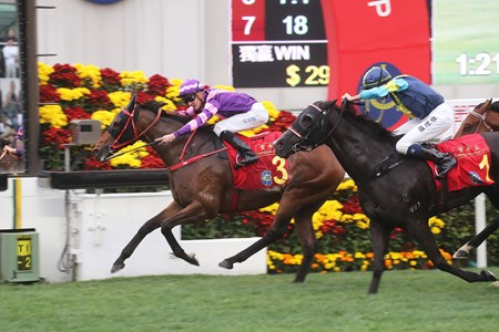 Dundonnell wins the 2018 Chinese New Year Cup Handicap