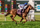 Joe Bravo aboard Synchrony wins the Fair Grounds Handicap