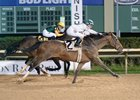 Blueridge Traveler wins the Maxxam Gold Cup by a neck at Sam Houston Race Park