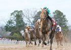 My Boy Jack draws away in the Southwest Stakes at Oaklawn Park