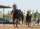Dream Tree wins the Las Virgenes by 3 3/4 lengths at Santa Anita Park