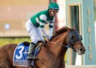Accelerate wins the San Pasqual Stakes at Santa Anita Park