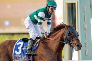 Accelerate Powers Through Trouble To Win San Pasqual