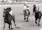 Cadillacing wins the 1988 Distaff Handicap