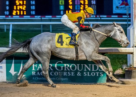 Zing Zang - Maiden Win, Fair Grounds - Dec. 16, 2017