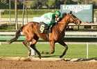 Dalmore romps by 8 1/2 lengths in an optional-claiming allowance race Feb. 15 at Santa Anita