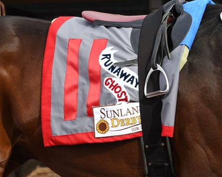 Sunland Derby winner Runaway Ghost will miss the Kentucky Derby at Churchill Downs