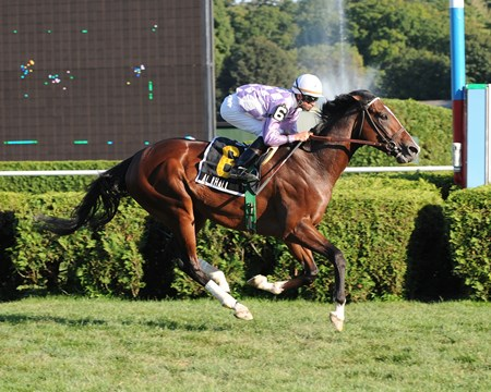 Al Khali wins the 2009 Saranac Stakes