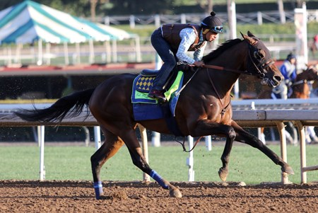 McKinzie - Santa Anita, March 26, 2018