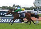 Estijaab (outside) edges Oohood in the Golden Slipper at Rosehill Gardens