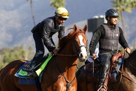 Justify - Santa Anita, March 26, 2018