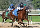 Exclamation Point wins his second straight race March 3 at Oaklawn Park