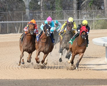 Whitmore wins the 2018 Hot Springs Stakes