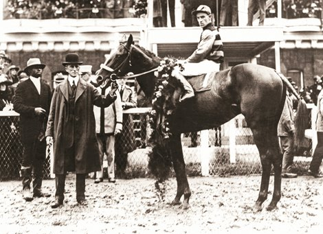 Triple Crown Heroes Sir Barton Bloodhorse