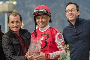 Jockey Mike Smith will ride Forever Unbridled in the Dubai World Cup
